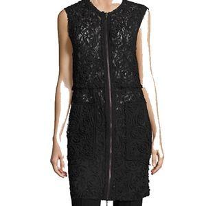 Elie Tahari Lace Vest/Dress